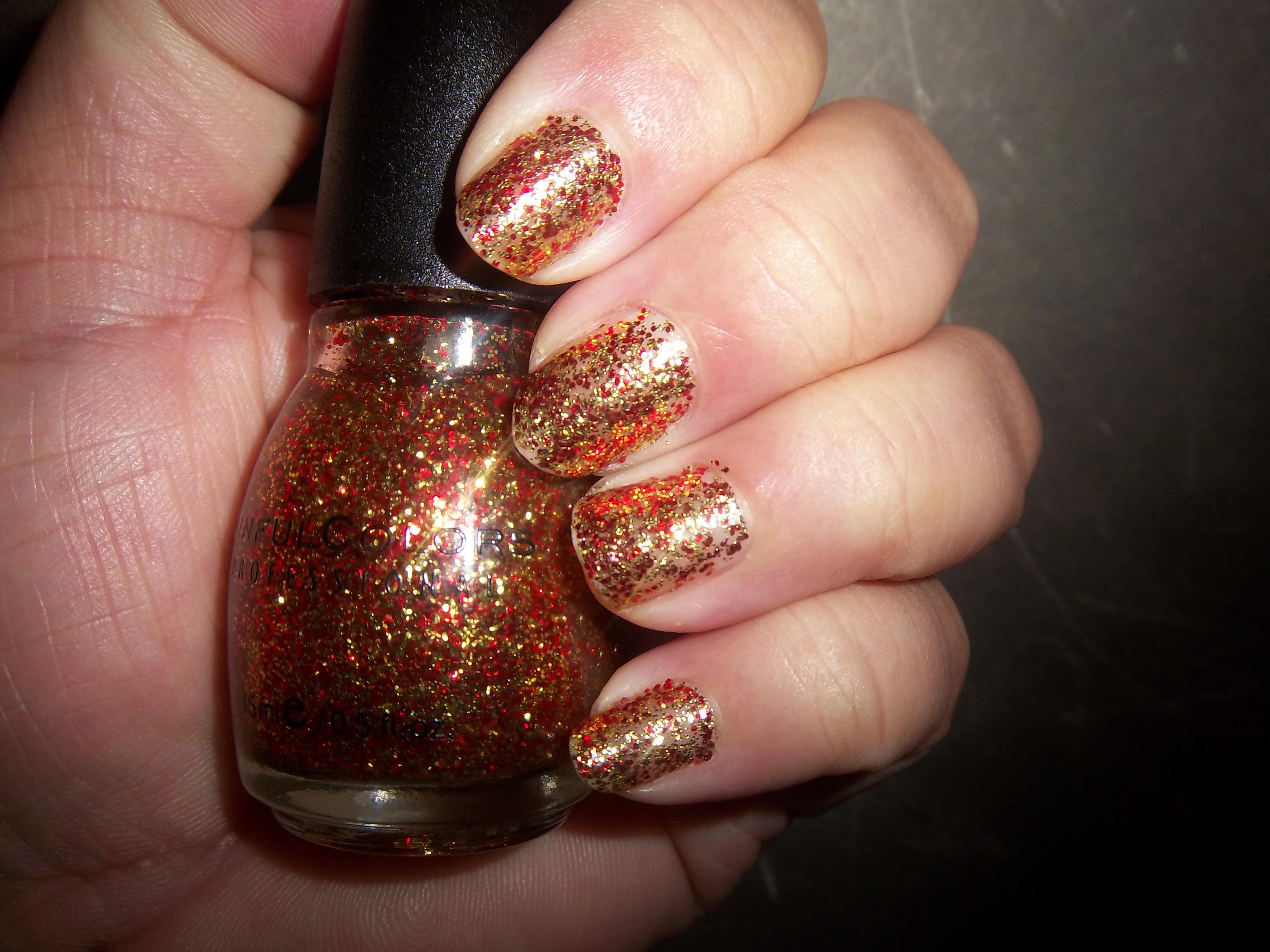 "Sinful Colors ""Pumpkin Spice"" Nail Polish – KMOM14- Project 365: A ..."