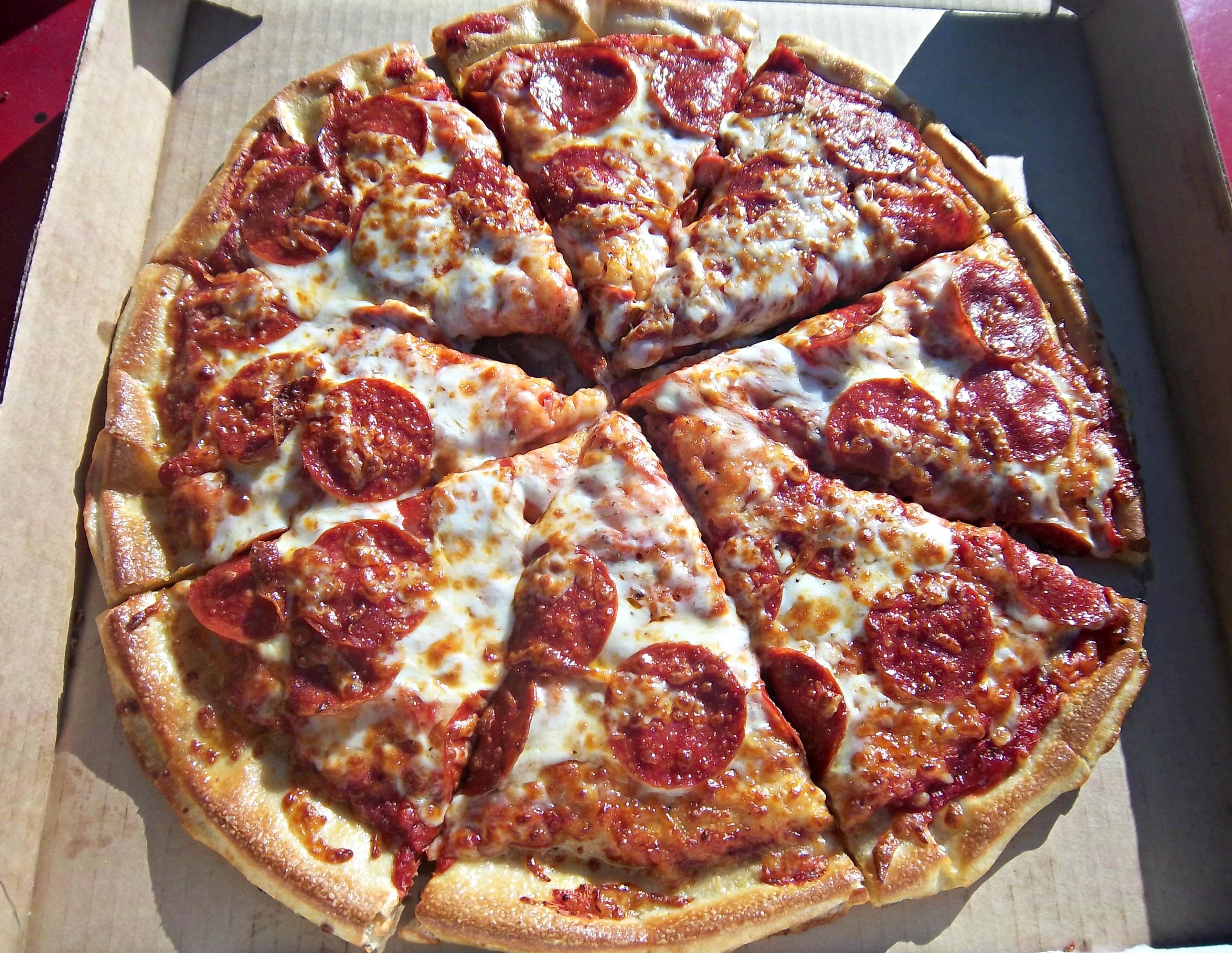 Fazoli's Pepperoni Pizza | KMOM14 Project 365 Take-A ...