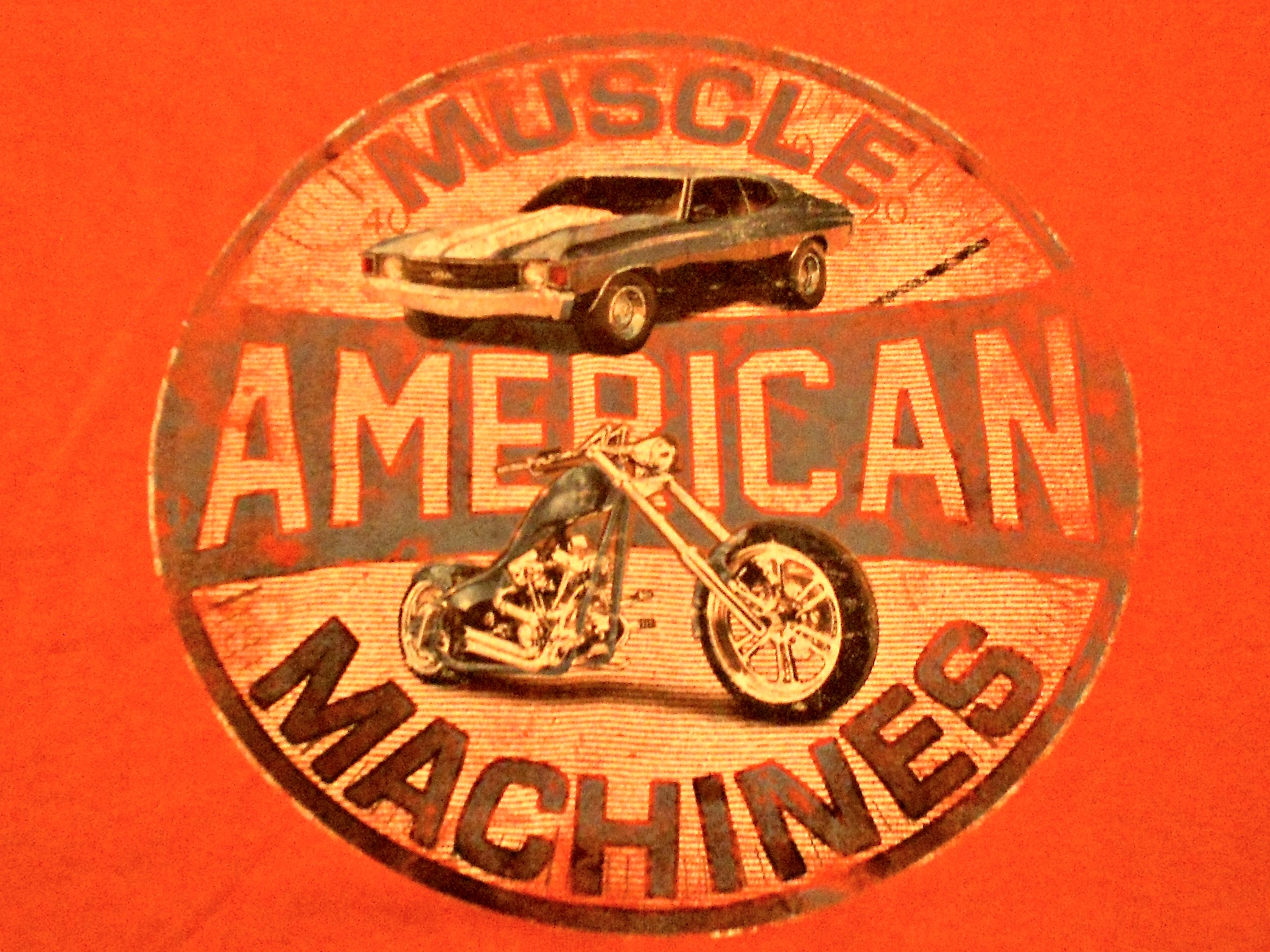 """American Muscle Machines"""" T-Shirt 