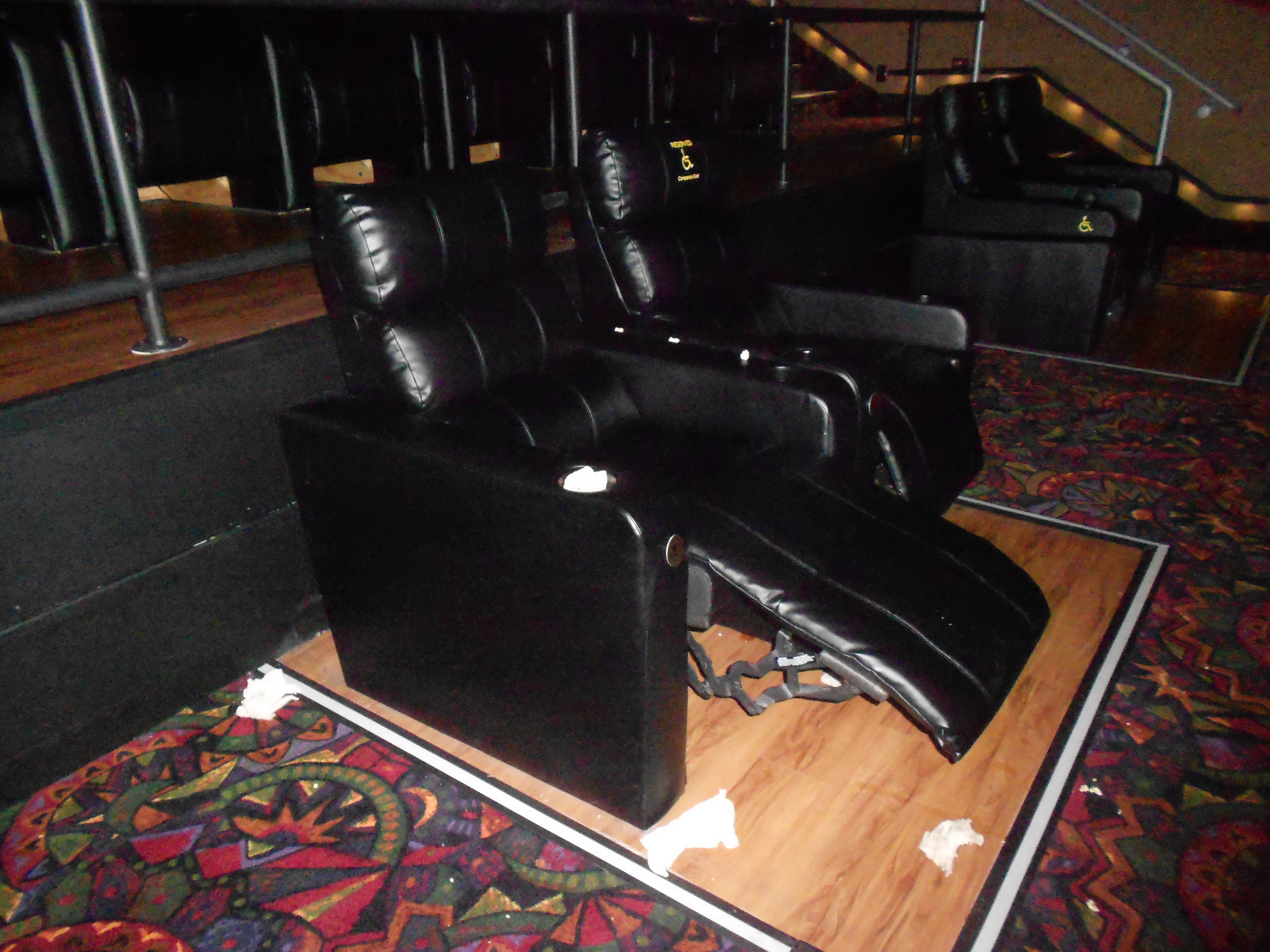 Merveilleux Large Reclining Chair At Selected Regal Cinema Theaters | KMOM14 Project  365 Take A Picture A Day